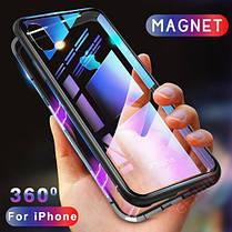 Магнитный чехол (Magnetic case) для для Apple Iphone XS, фото 2