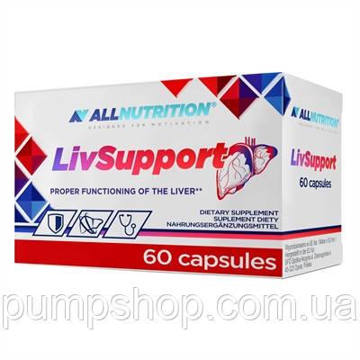 Для поддержания и восстановления печени AllNutrition Livsupport 60 капс. (уценка), фото 2