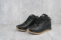 Мужские зимние ботинки черного цвета Натуральная кожа Размер 40 41 42 43 44 45