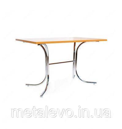 Металлическое хромированное основание для стола Розана Duo (Rozana Duo) Nowy Styl CH, фото 2