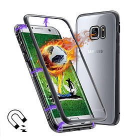 Магнитный чехол (Magnetic case) для для Samsung Galaxy S7 Edge