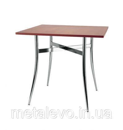 Металлическое хромированное основание для стола Трейси (Tracy) Nowy Styl CH, фото 2