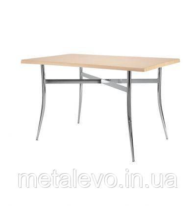 Металлическое хромированное основание для стола Трейси Duo (Tracy Duo) Nowy Styl CH, фото 2