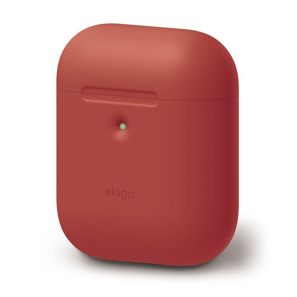 Чехол Elago A2 silicone Airpods Wireless Red (EAP2SC-RD) EAN/UPC: 8809461760384
