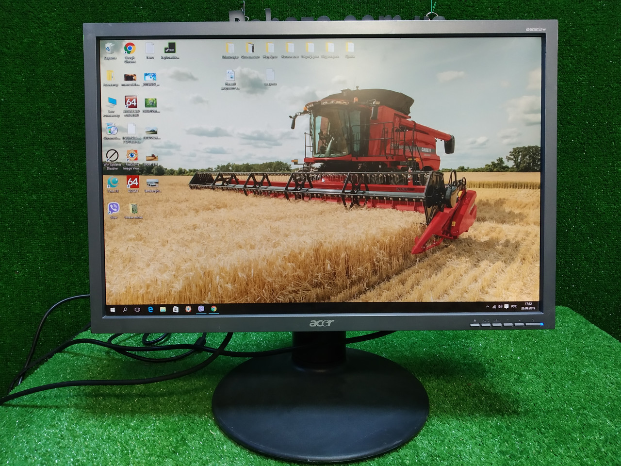 """Монитор 22"""" Acer b233w 1680x1050 Хорошее состояние"""