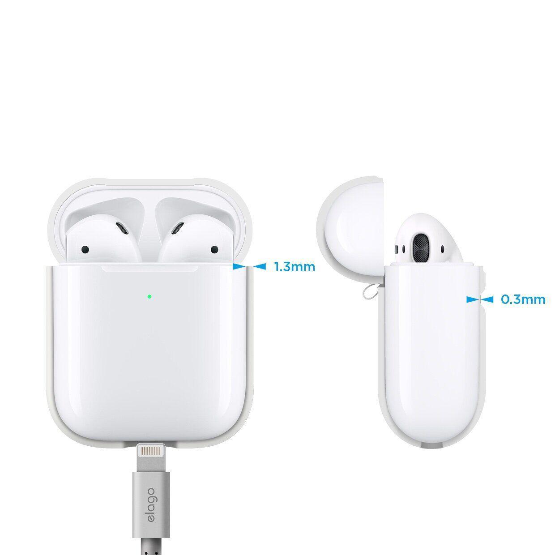 Чехол Elago A2 silicone Airpods Wireless Niqhtalow Blue (EAP2SC-LUBL) EAN/UPC: 8809461760377
