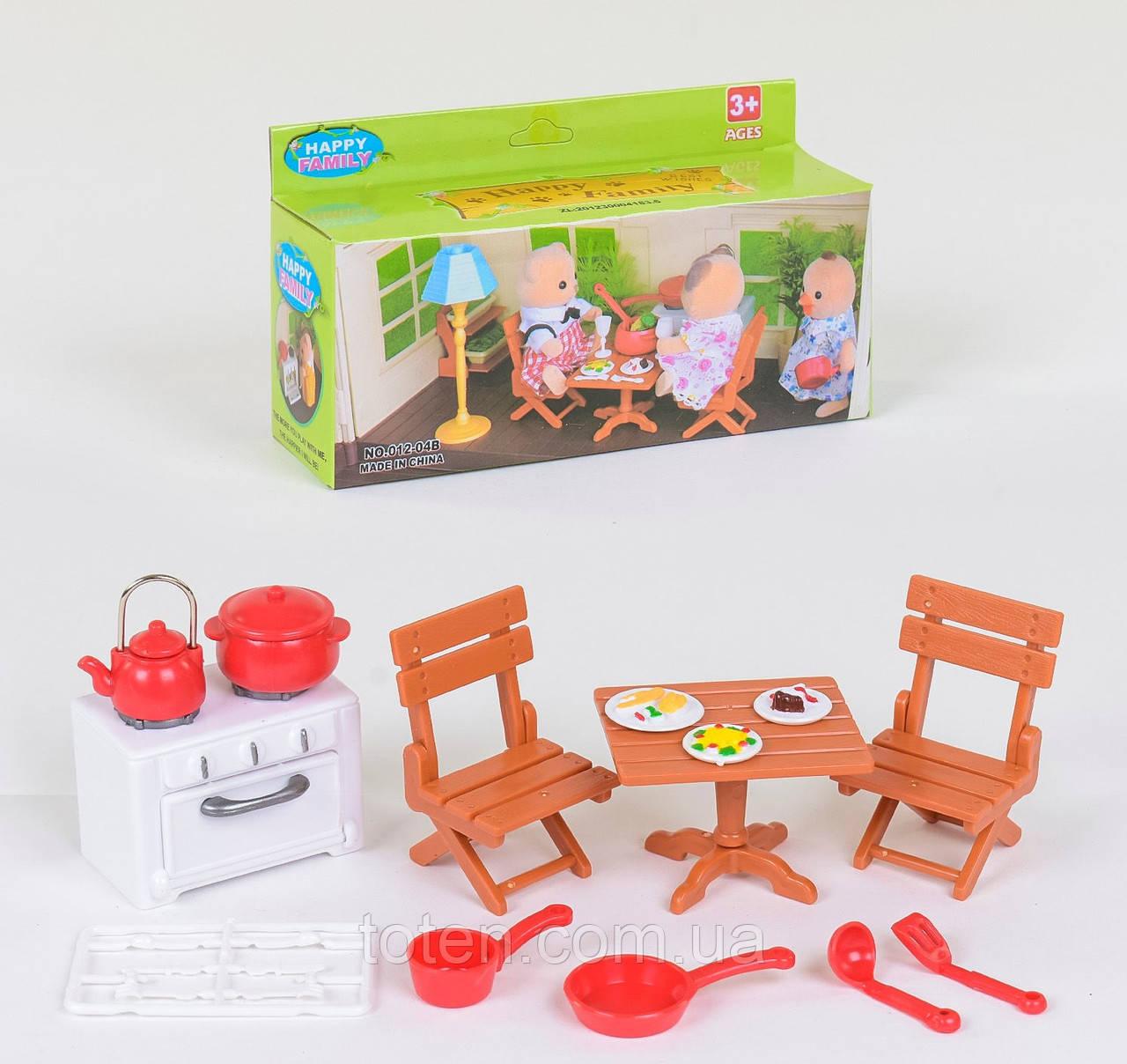 Набор для кукол Кухня 012-04b (аналог Sylvanian Families)