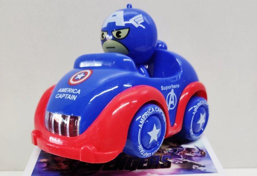 """Машинка светящаяся """"Captain America"""""""