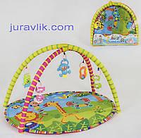 Детский коврик игровой развивающий  604-7 В Жирафик