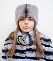 """Женская норковая шапка """"Кубанка-Адель"""""""