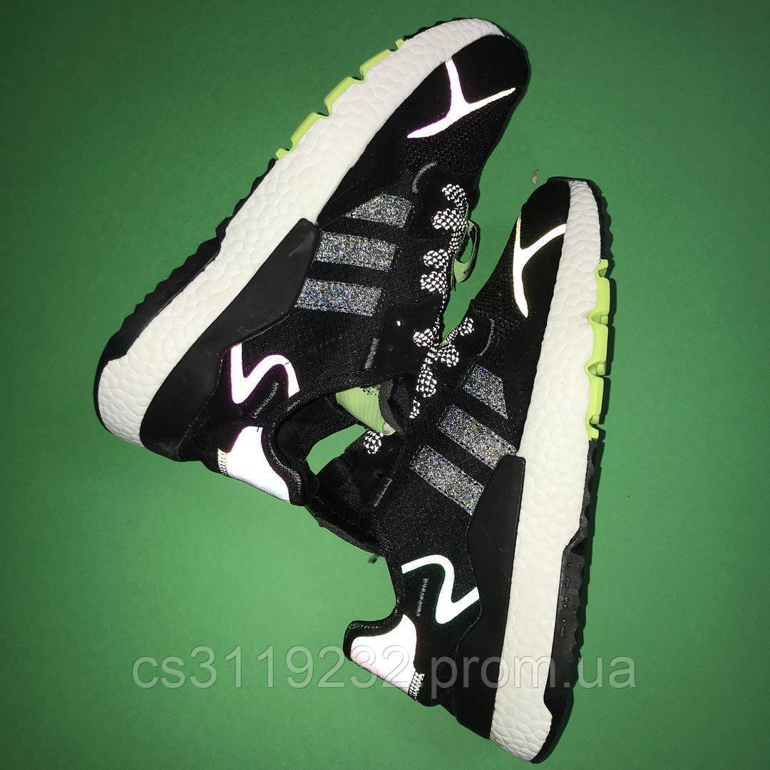 Мужские кроссовки Adidas Nite Jogger (черные)