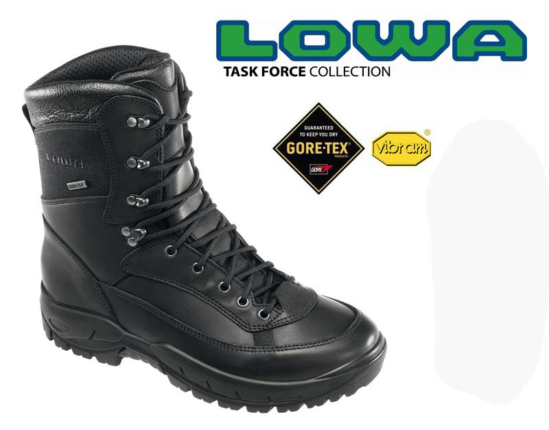 Ботинки LOWA RECON GTX® TF (Black) 10241/0999