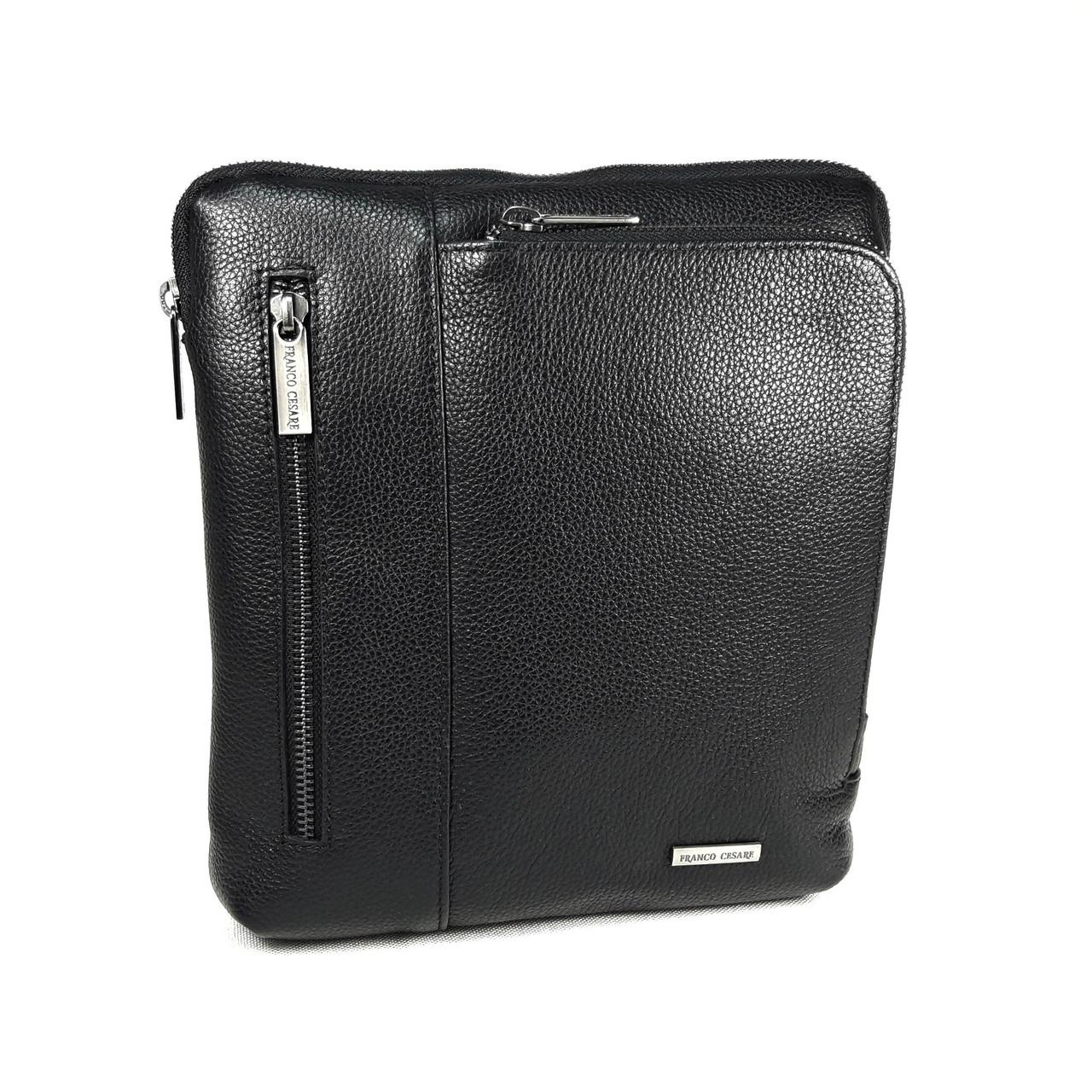 Кожаная наплечная сумка FC-0342-V1 бренда FRANCO CESARE