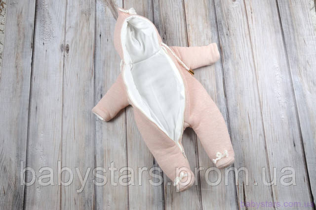 Теплые комбезы для новорожденных