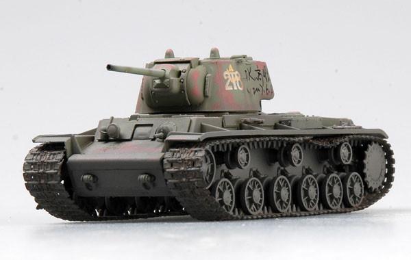 Russian KV-1 Syczewka, October 1942.1/72 EASY MODEL 36292