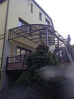 Полуарочный навес над терассой, фото 1