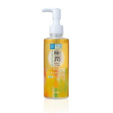 HADA LABO Гидрофильное масло с гиалуроновой кислотой Gokujyun Cleansing Oil 200ml
