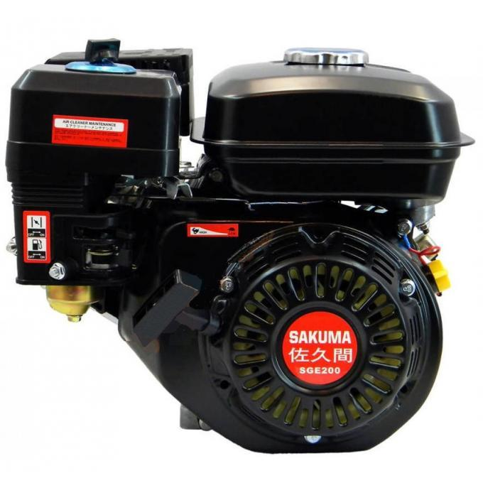 Двигатель бензиновый SAKUMA SGE200-P (6,5 л.с.)