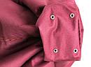 Мягкое кресло подушка груша мешок, размер XXL-120 см. бардовый цвет, фото 8
