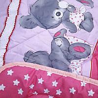 Детское одеяло овечья шерсть(разные цвета)