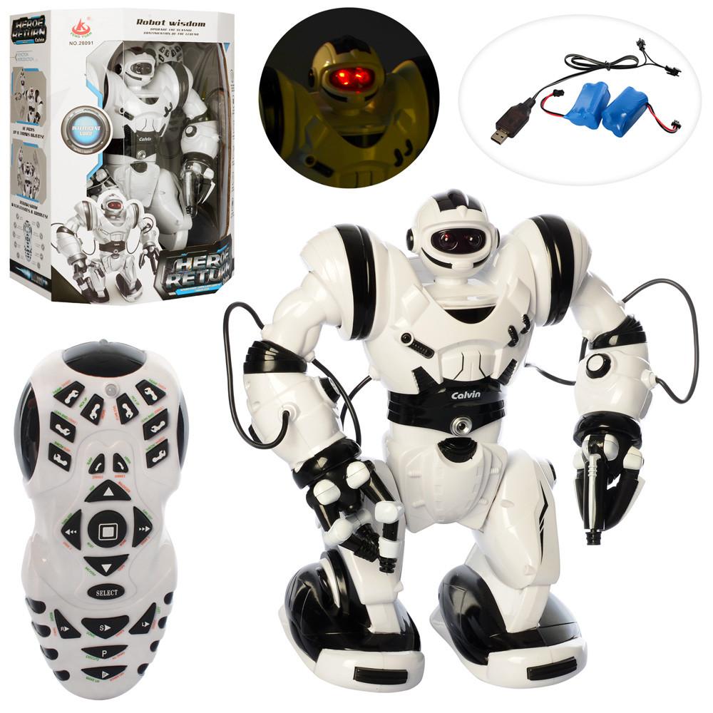 Робот Robot Wisdom (28091) на радиоуправлении | Высота 37 см | Аккумулятор, USB зарядное