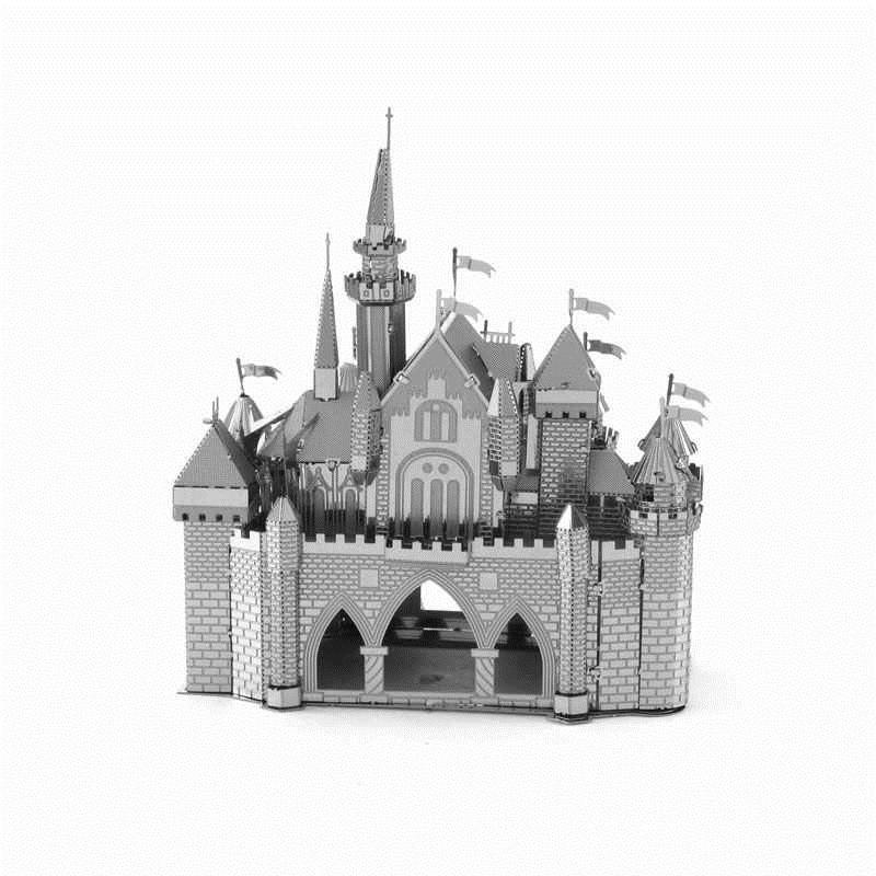 Металлический 3D конструктор Замок Спящей Красавицы