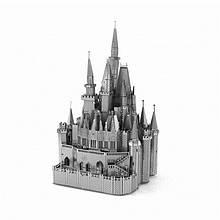 Замок Попелюшки Металевий 3Д конструктор 3d пазл 3D puzzle
