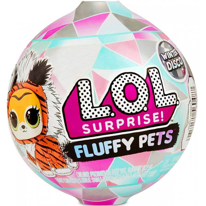 LOL Surprise Winter Disco Fluffy pets ( ЛОЛ Сюрприз пушистый Питомец Зимнее диско Петс Винтер Диско )