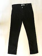 Тёплые брюки джинсы на 9-12 лет чёрного цвета, фото 1