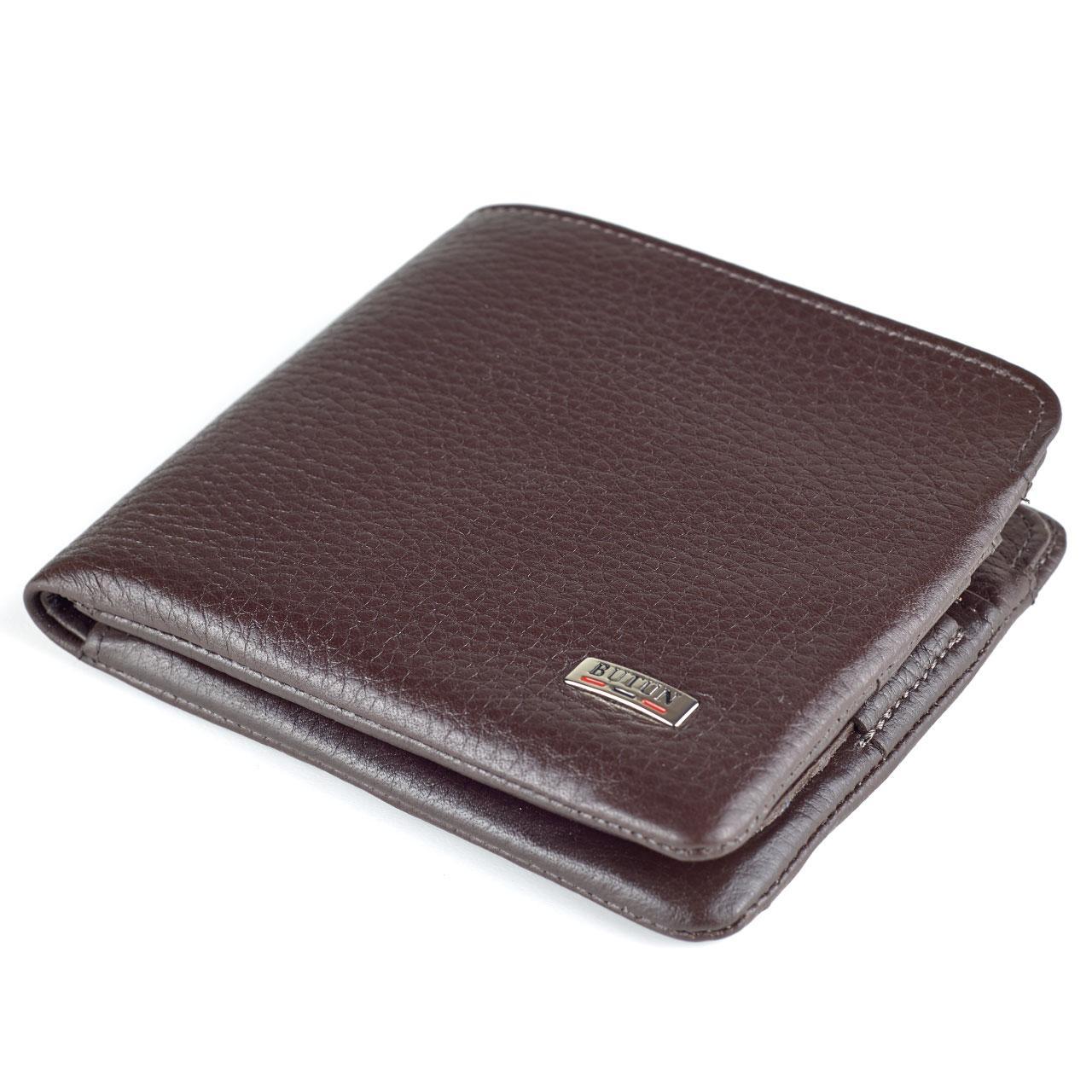 Мужской кошелек BUTUN 236-004-004 кожаный коричневый