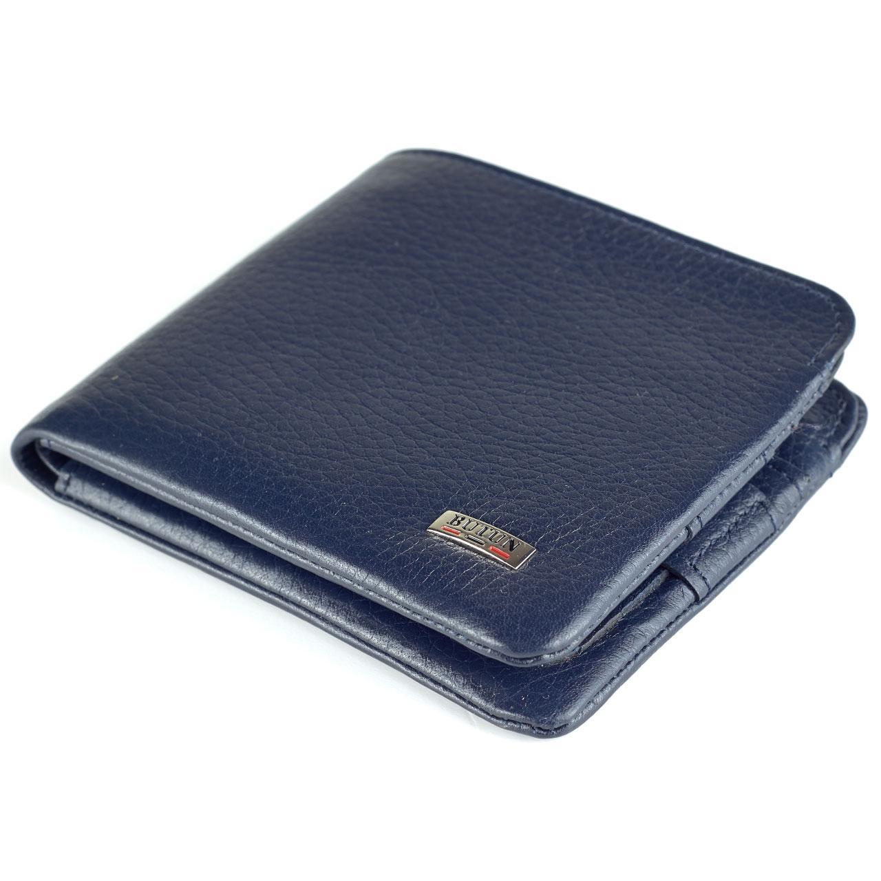 Мужской кошелек BUTUN 236-004-034 кожаный синий