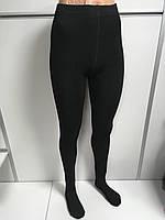 Колготы Женские на Флисе Набор 2 шт Плотные Черные Размер XL