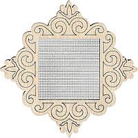Заготівка для вишивання нитками FLH-015 ,9*9см