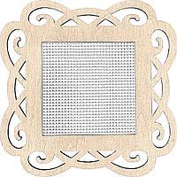 Заготівка для вишивання нитками FLH-018 ,9*9см