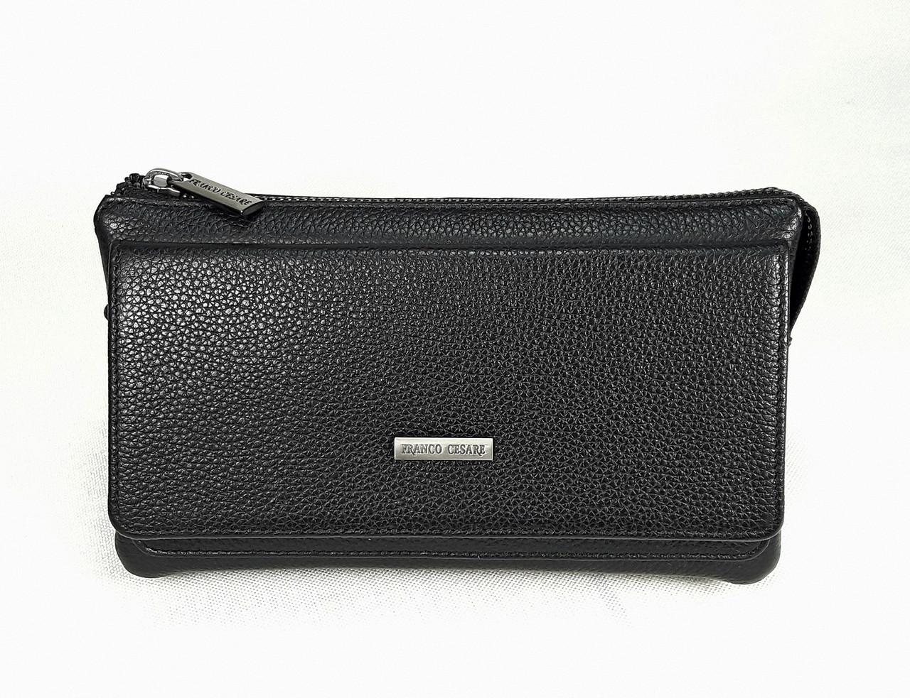 Клатч из натуральной кожи FC-2201-V1 бренда FRANCO CESARE