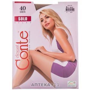 Колготы Conte 40 den цвет Nero (черный) размер 2,3,4,5,6