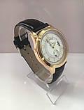 Чоловічий наручний годинник Louis Vuitton (Луї Віттон), золотисто-білий колір ( код: IBW180YO ), фото 4