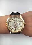 Чоловічий наручний годинник Louis Vuitton (Луї Віттон), золотисто-білий колір ( код: IBW180YO ), фото 5