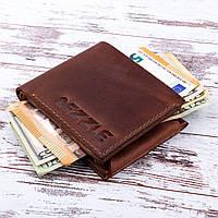 Кожаный кошелек портмоне Dezzle 2604 коричневый