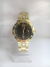 Женские наручные часы Guess (Гесс), золотисто-черный цвет