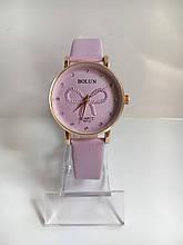 Женские наручные часы Bolun (Болун), золотисто-сиреневый цвет