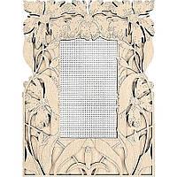 Заготівка для вишивання нитками FLH-022,14,5*19.5см