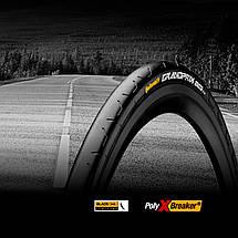 "Покрышка Continental Grand Prix, 28""  700x25C, 25-622, Foldable, BlackChili, PolyX Breaker, Skin, 230гр., фото 2"