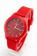Женские наручные часы Lacoste (Лакост), красный цвет