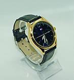 Чоловічі наручні годинники Tomy Hiifiger (Томмі Хілфігер), чорні з золотом ( код: IBW234YB ), фото 2