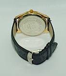 Чоловічі наручні годинники Tomy Hiifiger (Томмі Хілфігер), чорні з золотом ( код: IBW234YB ), фото 3