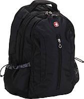 Рюкзак с отделением для ноутбука 15 дюйма 24 л. Wenger черный, фото 1