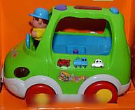Развивающая игрушка музыкальный автобус ZYE 00014