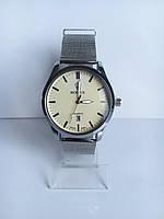 Мужские наручные часы Rolex (Ролекс), цвет серебристо-белый