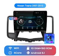 Junsun 4G Android магнитола для Nissan Teana j32 2009 2010 2011 2012 2013  wifi